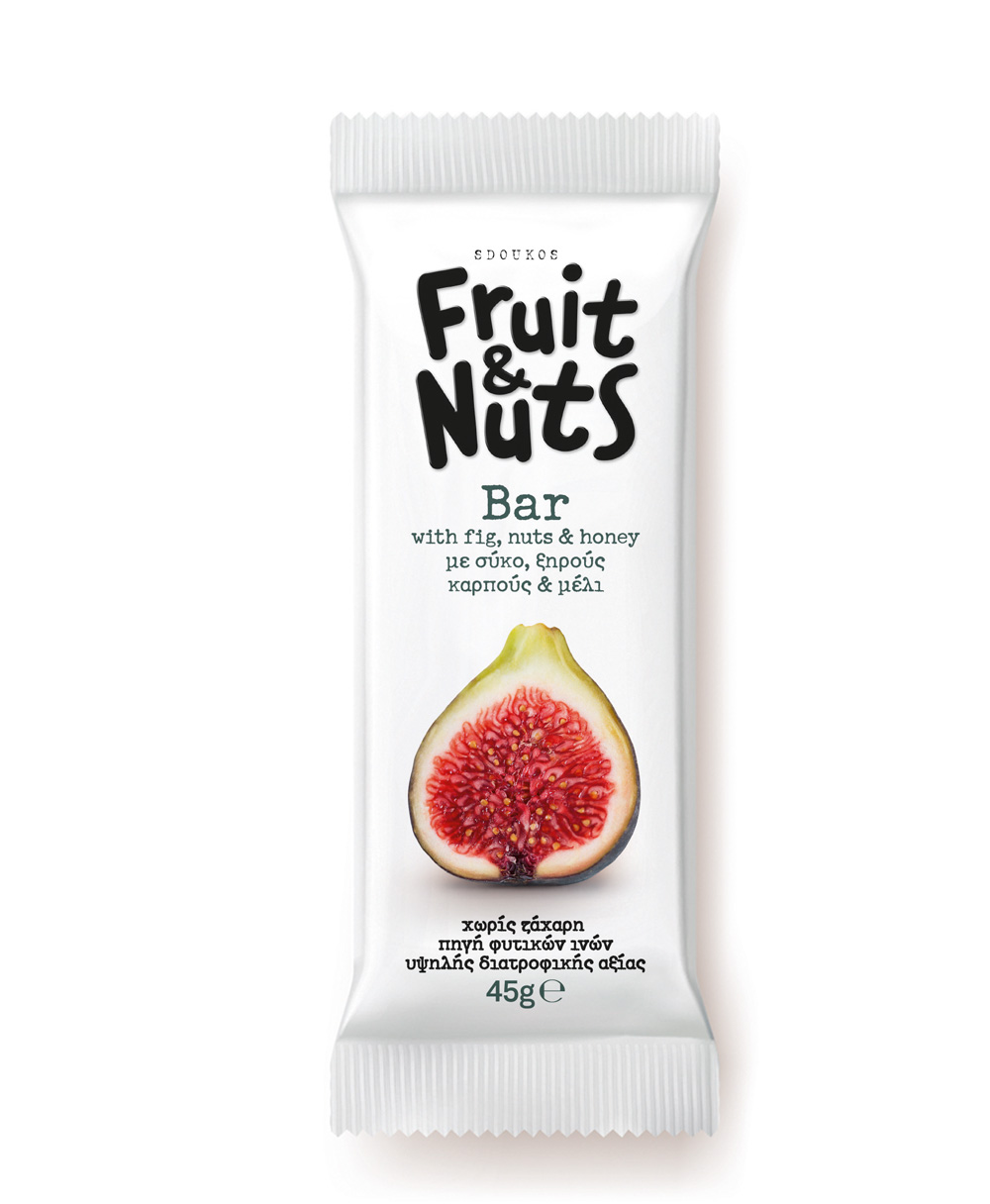 "BAR WITH FIGS, NUTS AND HONEY ""FRUIT & NUTS"" 45g"